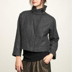 GAP Charcoal Wool Blend Boucle Jacket NWT